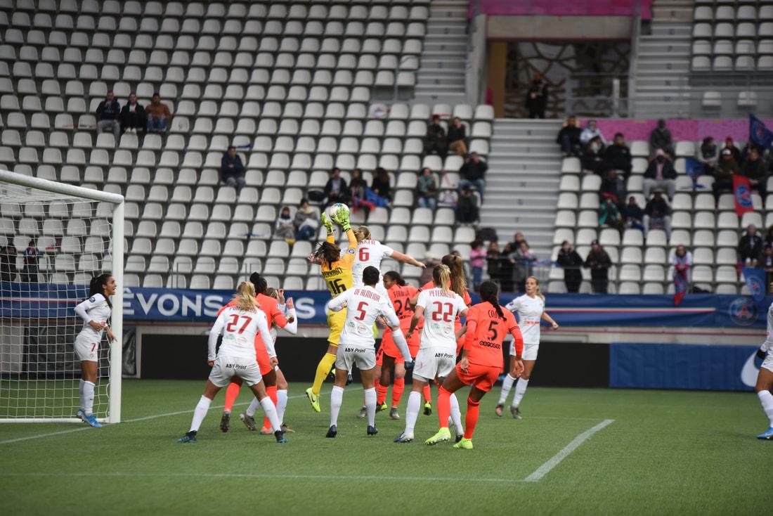 PSG 1-1 Montpellier HSC, 07/12/2019, Stade Jean Bouin, © Frédérique Grando