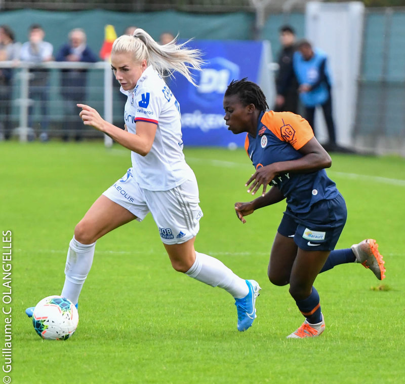 OL 3-0 Montpellier HSC, D1 - Journée 8, le 2 novembre 2019 ©Guillaume Charton
