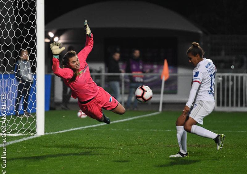 OL (7-0) Fortuna Hjorring, 8èmes ret. 31 octobre 2019, ©Guillaume Charton