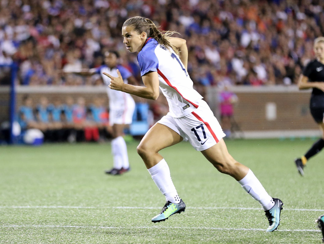 Tobin Heath ©photo : Jamie Smed