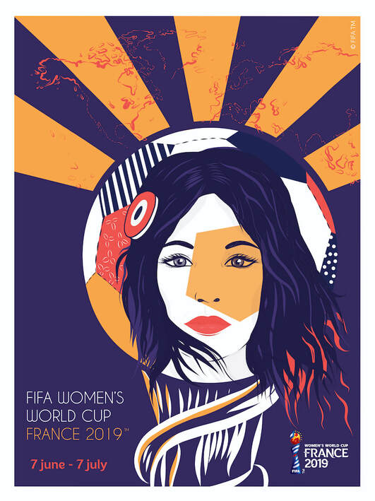 affiche officielle coupe du monde 2019