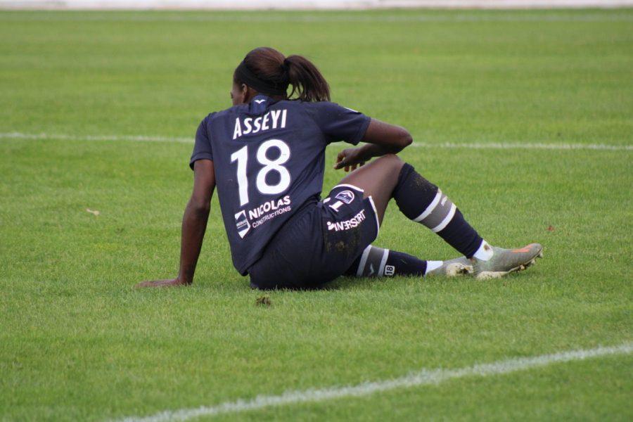 ASSEYI - Paris FC - Girondins de Bordeaux (0-4), 23/11/2019, ©Nicolas Jambou