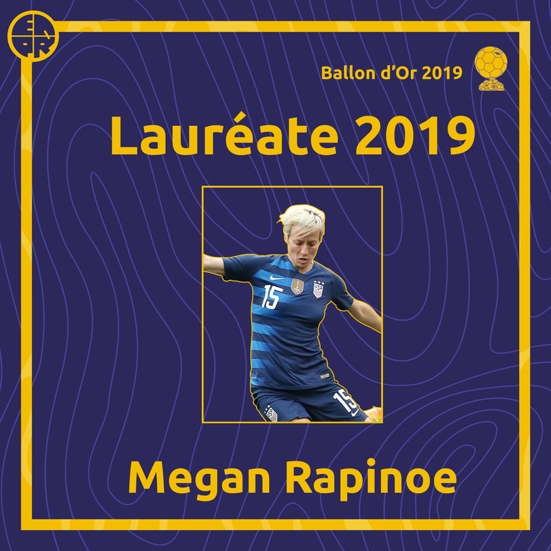 Visuel Rapinoe Ballon d'or
