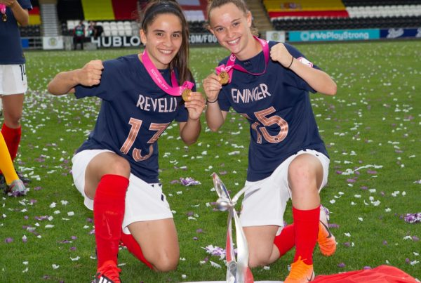 Thelma Eninger, Manon Revelli U19 féminines