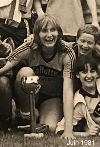 Annie Fortems, victorieuse en 1981