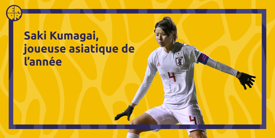 visuel Kumagai joueuse asiatique de l'année