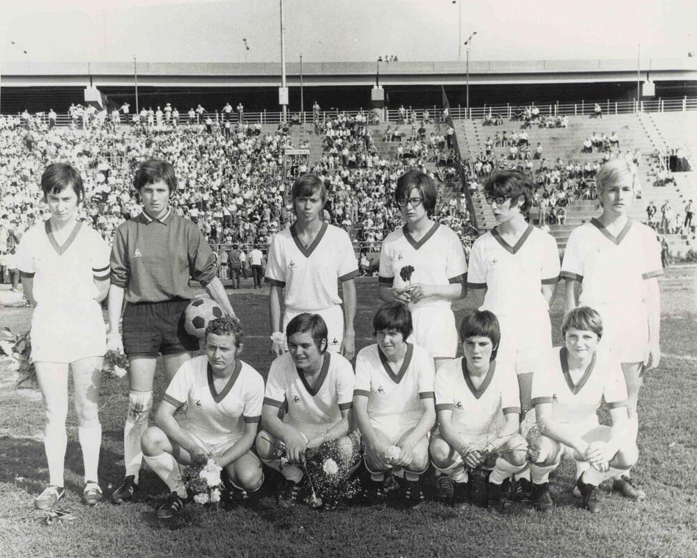 Équipe de Reims représentant la France à New-York, 1970