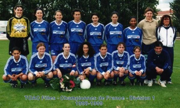 TFC - Championnes de France - Division 1 - 1998-1999