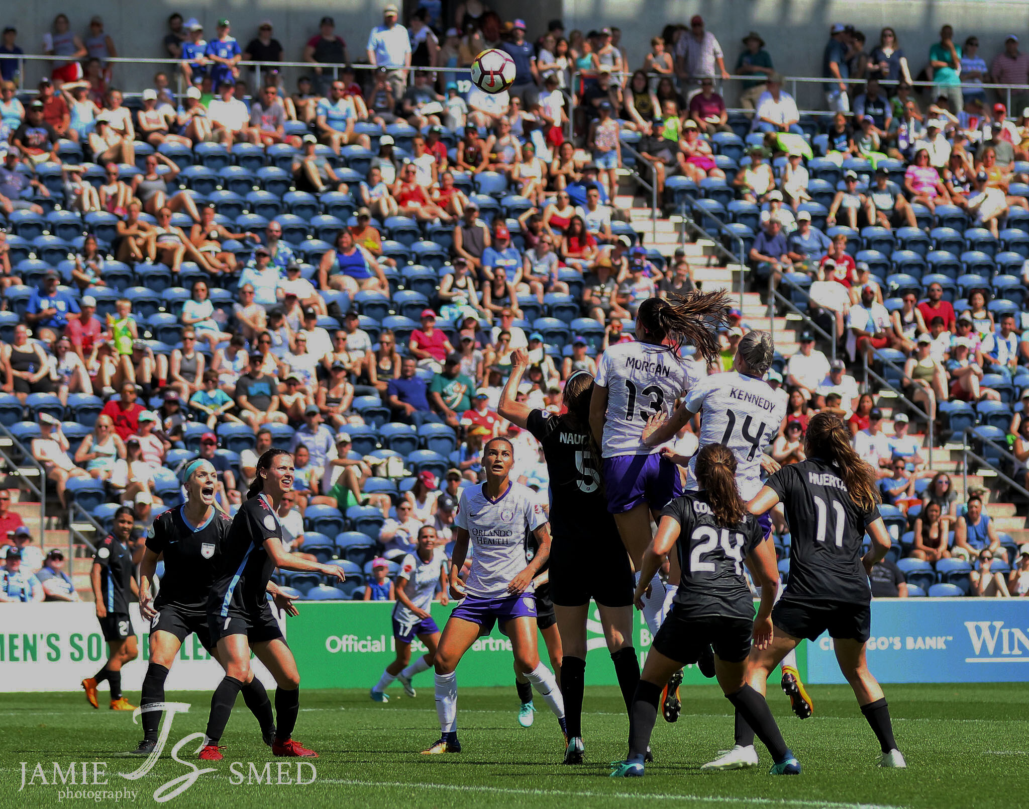 NWSL Orlando vs Chicago - @Jamie Smed
