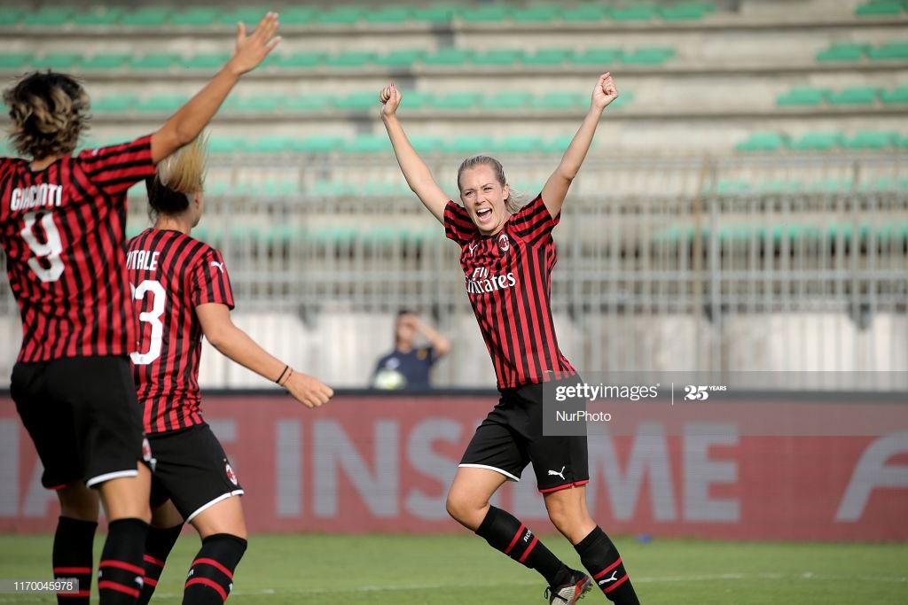 Stine Hovland Milan AC