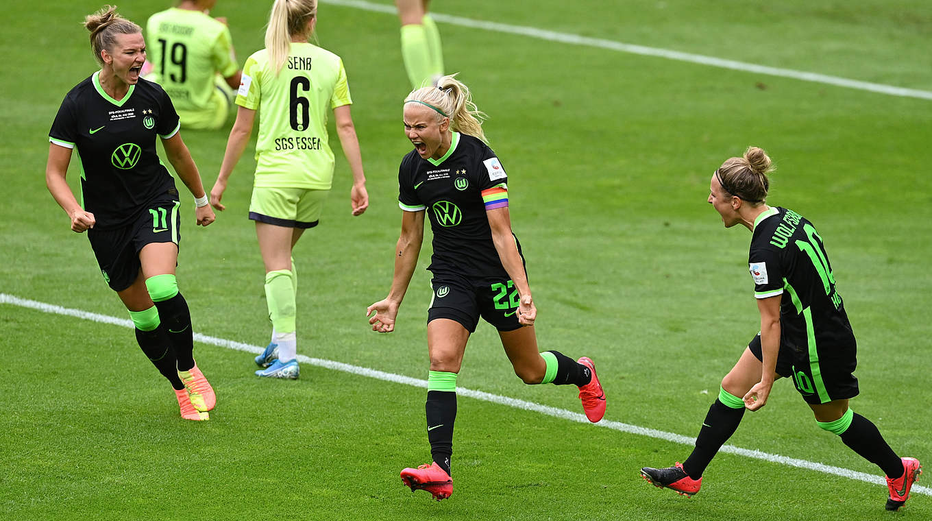 Pernille Harder Wolfsburg