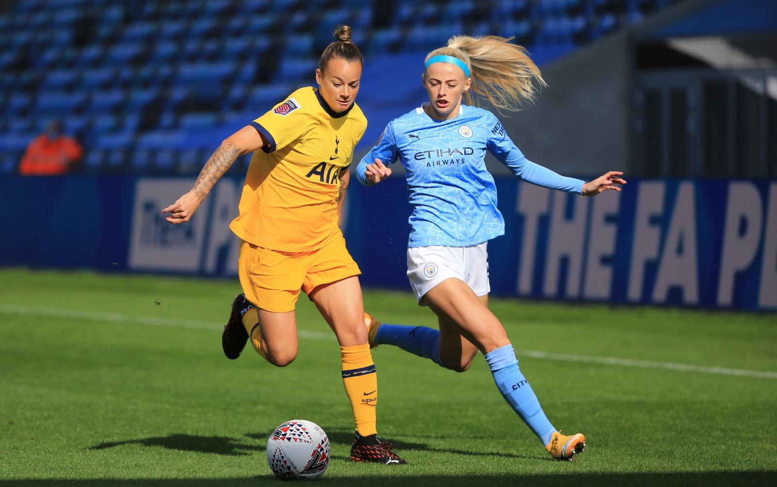 Kelly pour City buteuse contre Tottenham
