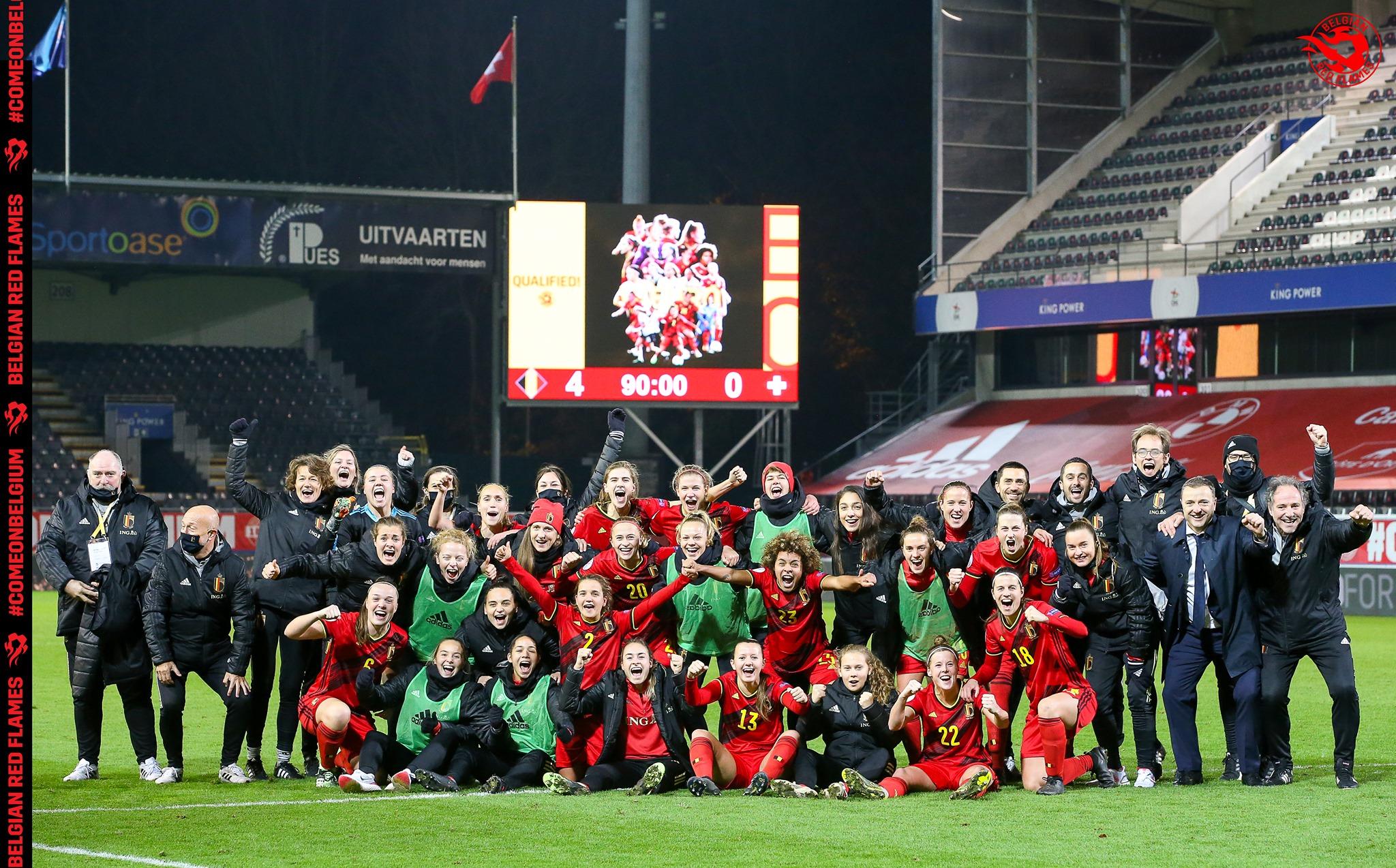 (C) Belgian Red Flames