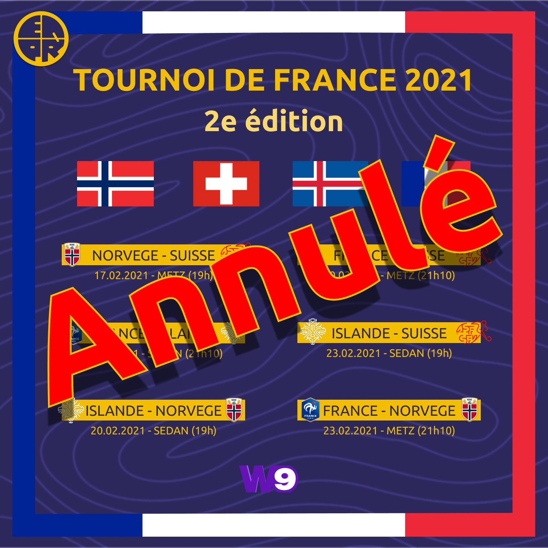 tournoi de france annulé