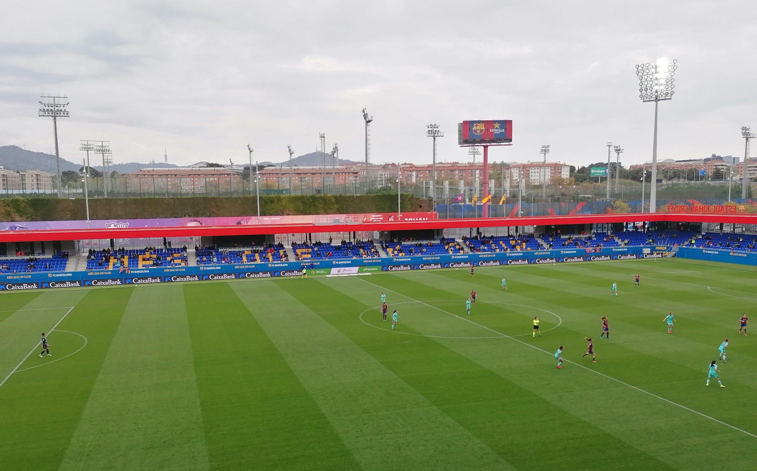 Barcelone - Levante, Estadi Johan Cruyff
