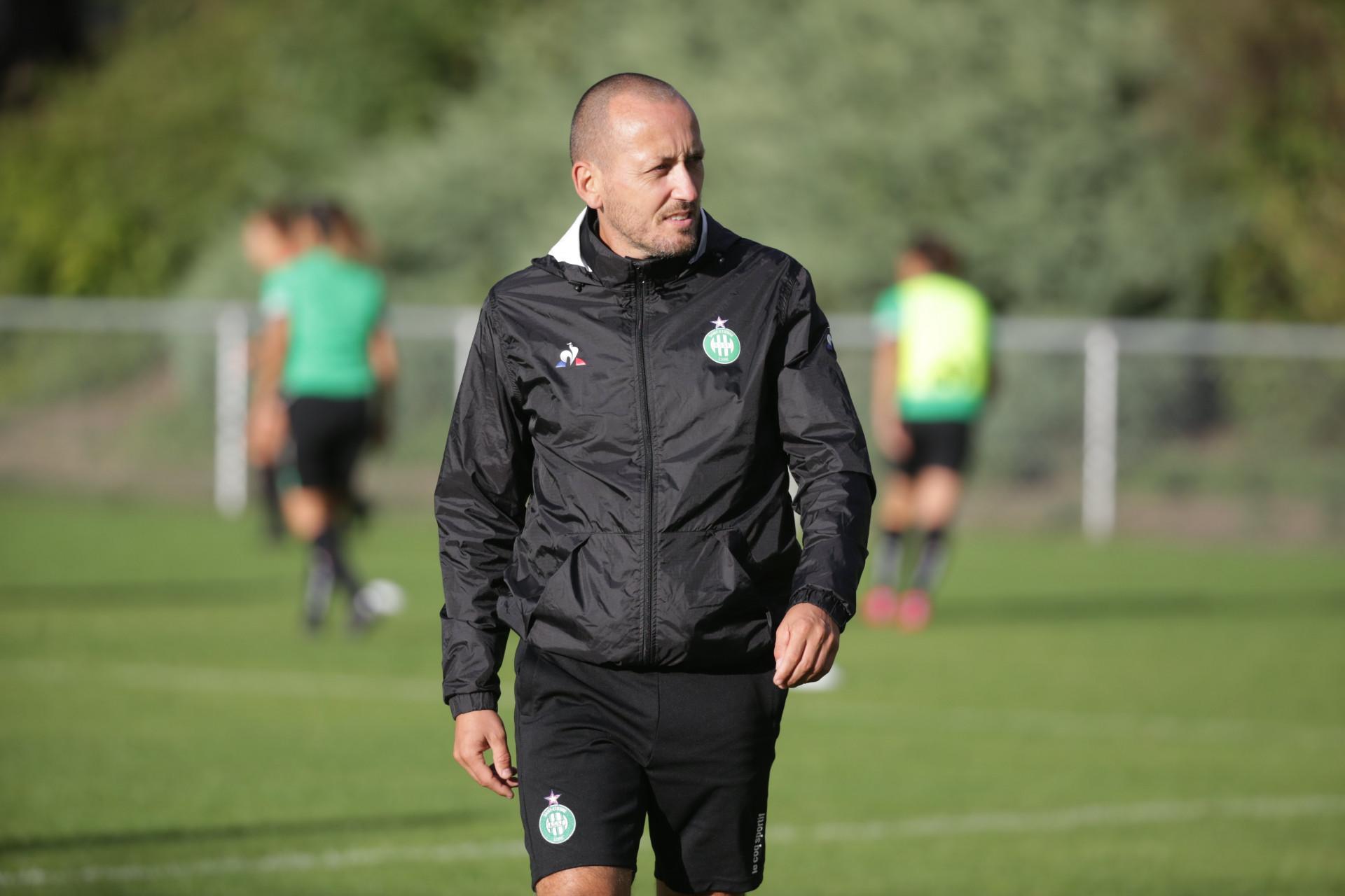 Jérôme Bonnet coach de l'ASSE féminine