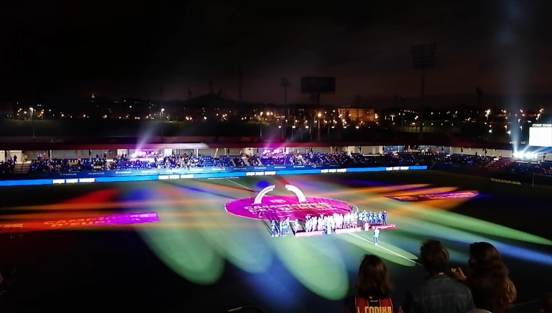 FC Barcelone présentation joueuses - crédit : L'Equipière