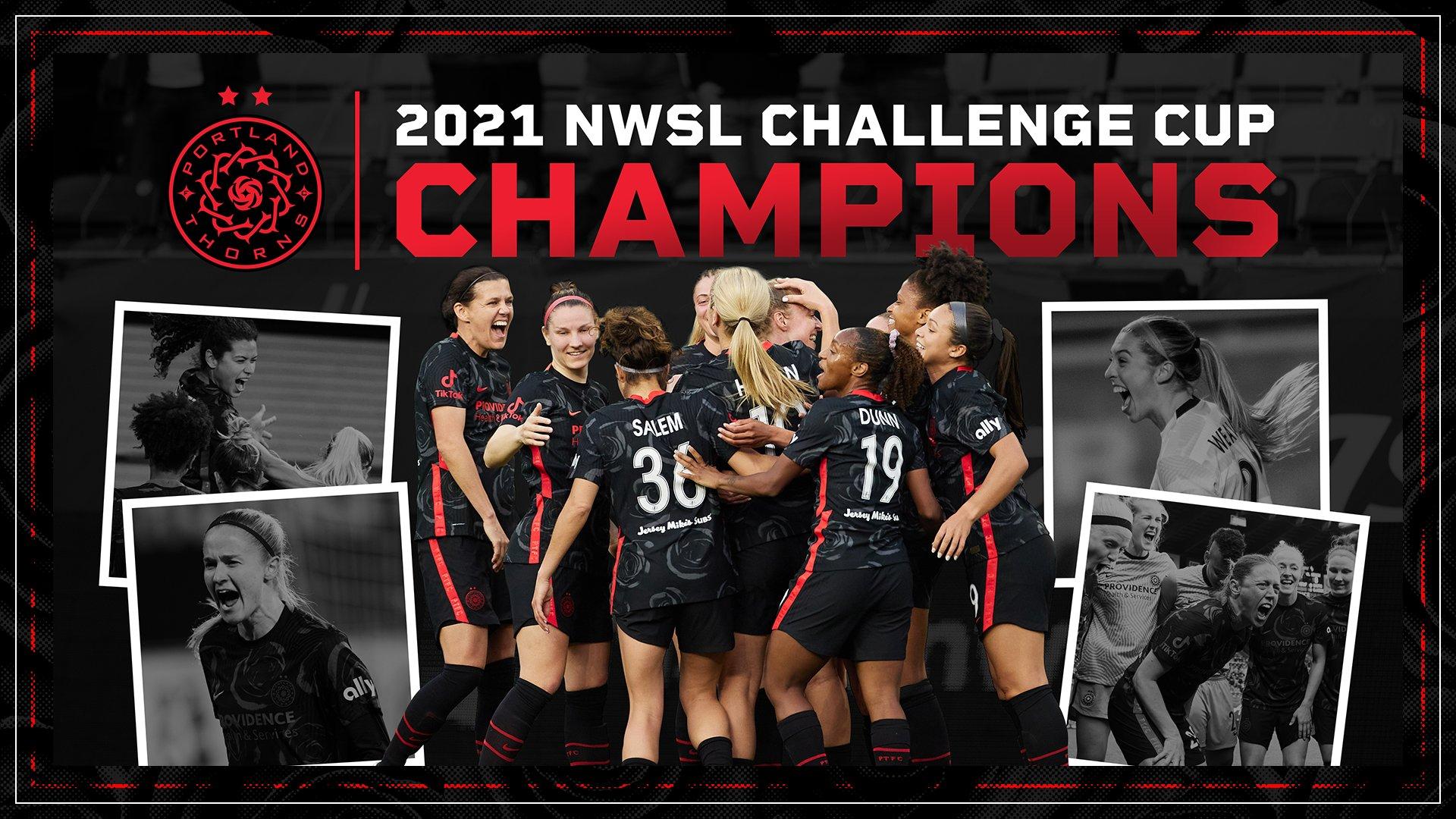 Portland remporte la Challenge Cup 2021 ©Portland Thorns FC