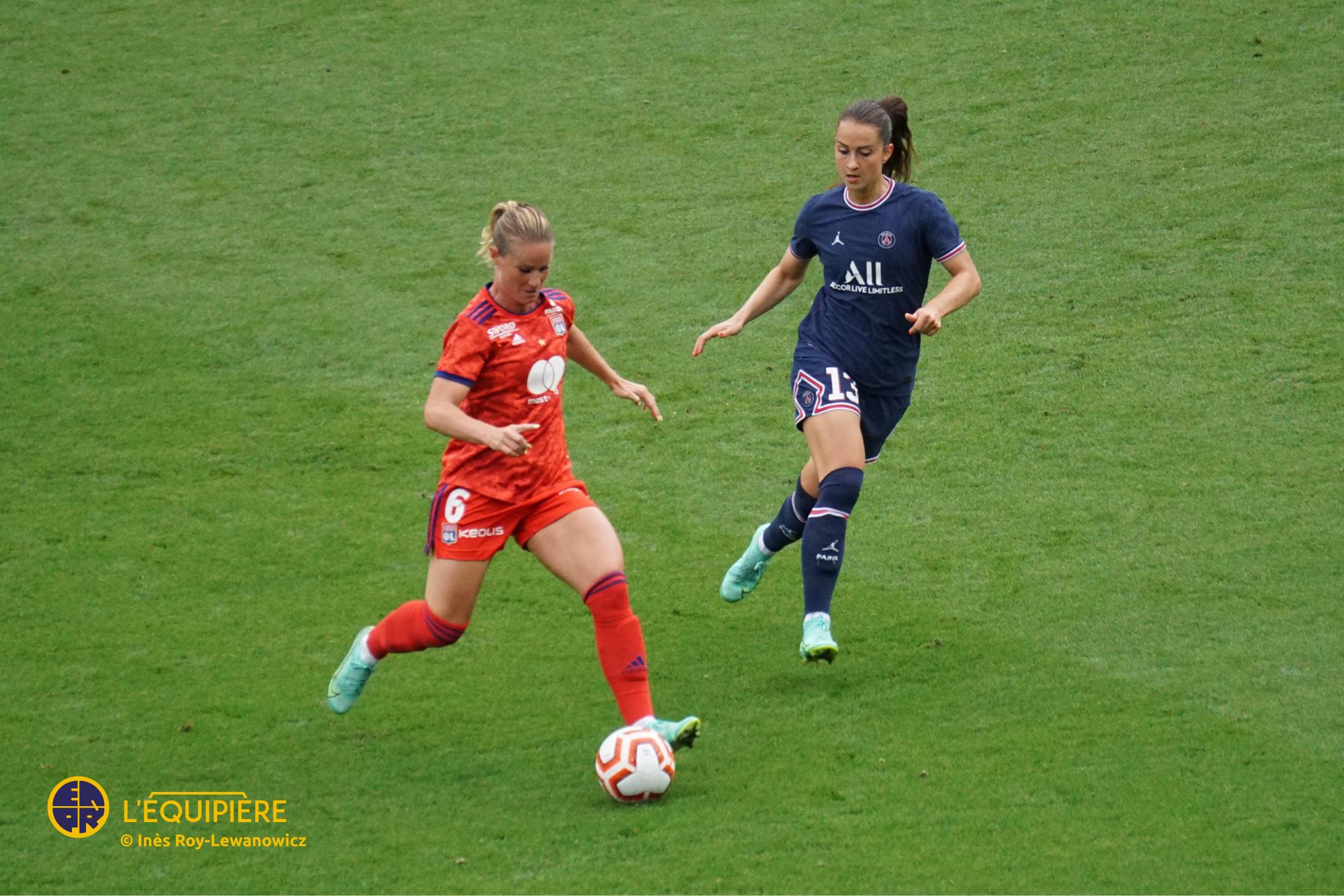Amandine Henry (OL) vs Sara Dabritz (PSG)