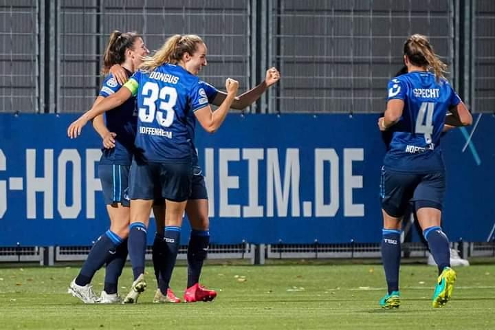 TSG Hoffenheim-HB Køge @FrauenTSG